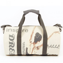 Ballet Graceful Dancer Canvas Duffle Bag