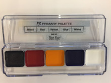 FX Primary Palette 5 Colors Water Alcohol Activated