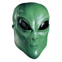 Alien Mask Green Full Over the head Latex Mask