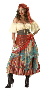 Incharacter Deluxe Fortune Teller Women's Costume Size XLarge