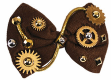 Steampunk Bow Tie with Gears