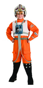 Star Wars Licensed Deluxe Kid's X Wing Fighter Costume