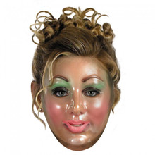 Transparent Woman Mask