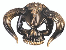 Taurus Face Mask Mardi Gras Sunglasses Style with Horns