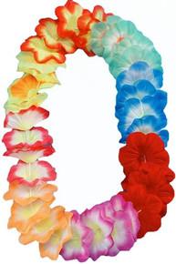 Hawaiian Luau Flower Lei Extra Large