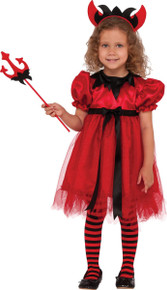 Pretty Devilish Kids Costume
