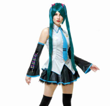 Hatsune Miku Licensed Vocaloid Teal Anime Cosplay Wig