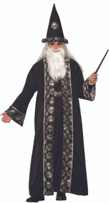 Dark Sorcerer Robe Hat and Belt Witches & Wizards Series