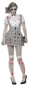 Zombie School Girl Adult Costume