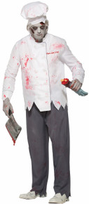 Zombie Short Order Cook Hat, Jacket, and Pants