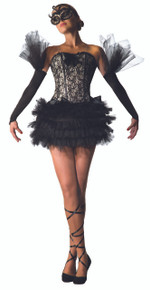 Black Swan Ballerina Adult Costume