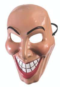 Evil Grin Mask Female Frontal Only