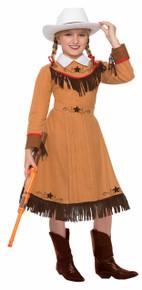 Texas Rosie Western Frontier Dress Kids Costume