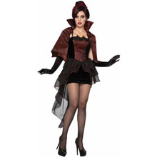 Vampire Seductress Dress and Cape