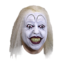 Clown Town Baseball Clown Mask Deluxe Latex