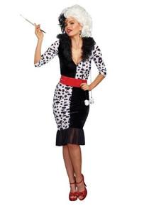 Dalmatian Diva Women's Costume