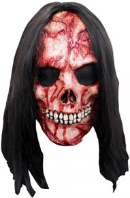 Corpse Mask has Skeleton face with Black Hair