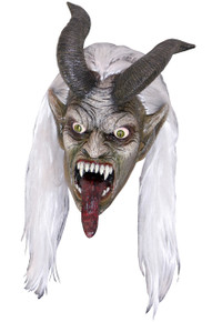 Krampus Night Mask with Horns
