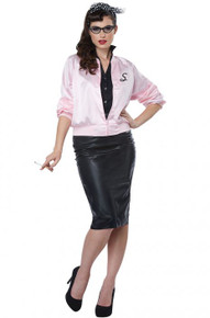 50's Satin Varsity Jacket Adult