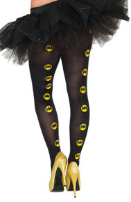 Batgirl Tights with logo print Licensed Batman 90-160 lbs