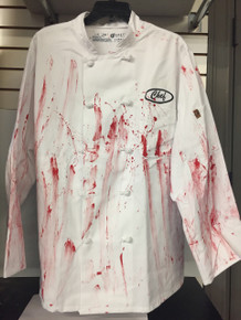 Chef Bloody Work Shirt Authentic Uniform