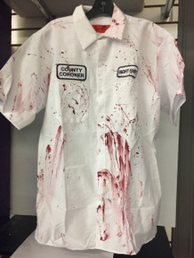 Bloody Coroner Night Shift Work Shirt