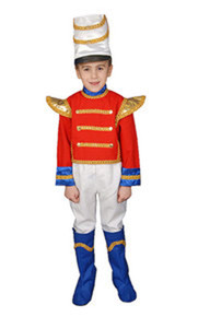 Deluxe Toy Soldier Kids Costume