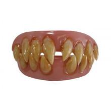 Ghoulish Grin Fake Teeth Set Billy-Bob Sharp Teeth