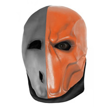 Batman Arkham Origins Deathstroke Latex Mask Adult
