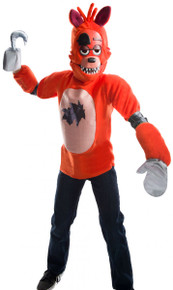 Five Nights at Freddy's Licensed Foxy Kid's Deluxe Costume