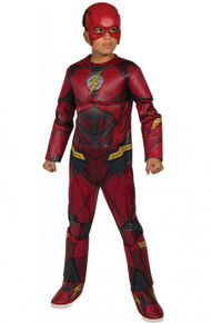 Justice League Licensed Flash Deluxe Kid's Costume