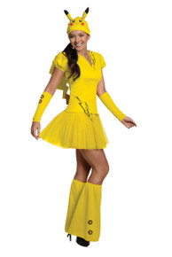 Pokemon Licensed Pikachu Women's Costume