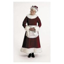Mrs Claus Deluxe Adult Dress Size Medium 8-10