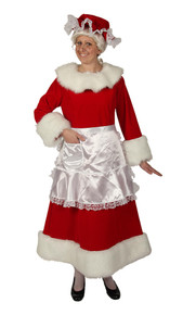 Regal Red Velvet Mrs Claus