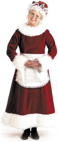 Mrs Claus Deluxe Dress Size 16-18