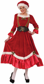 Mrs. Claus Dress Mob Hat & Corset Belt 14/16