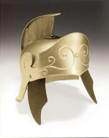 Gold Adult Roman Helmet