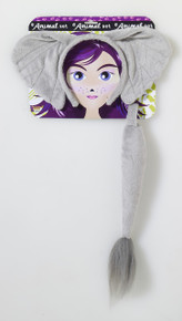 Elephant Headband & Tail