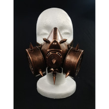 Gas Mask with two breathers and Spikes