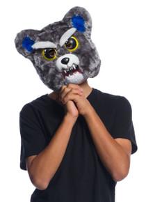 Feisty Pets Sammy Suckerpunch Mask Kids Stuffed Animal with Attitude