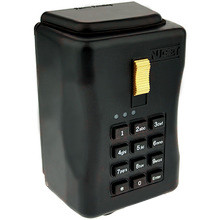 Electronic Key Storage Lock Box - Wall-Mount Combination Lockbox with Downloadable Access Log