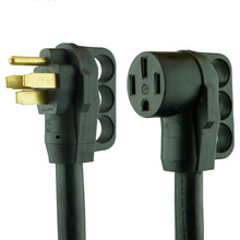 RV Extension Power Cord 50' 50 amp with Grip Handle
