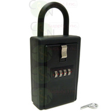 Extra Large 4 Digit Combination Key/Card Storage Lock Box
