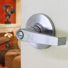 Commercial Grade 2 Privacy Lever Lock Satin Chrome