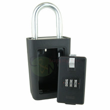 Brand New 3 Letter Combination Lock Box w/ Large Vault