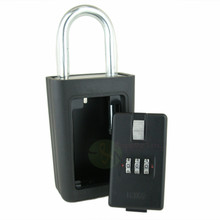 Brand New 3 Digit Combination Lock Box w/ Large Vault