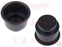 Black Plastic Cup Holder for RV Camper