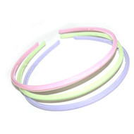 (HBP3302A) PLASTIC HEAD BAND 3PCS/CD