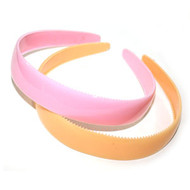 (HBP3552) PLASTIC HEAD BAND 2PCS/CD