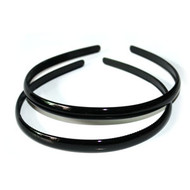 (HBK4439) PLASTIC HEAD BAND 2PCS/CD